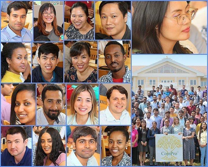 Понад 3000 випускники майже 100 країн з 1996