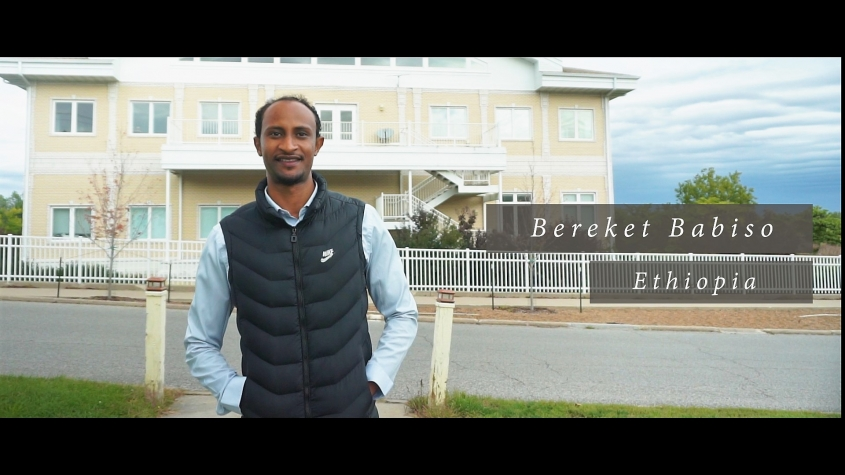 Bereket Babiso ຢູ່ Maharishi University of Management